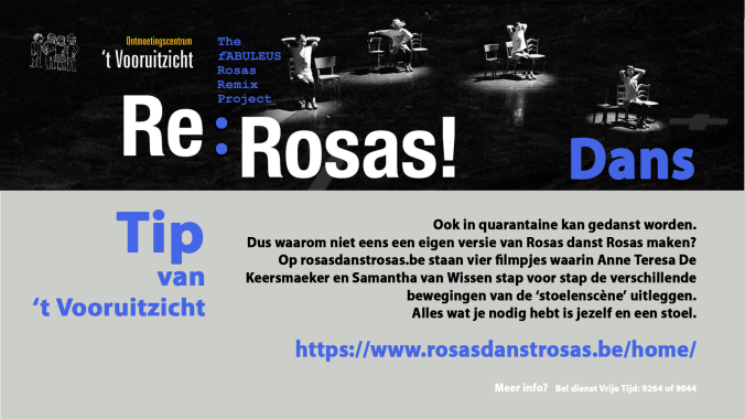 scherm activiteiten 't vooruitzicht 2020 tip Rosas