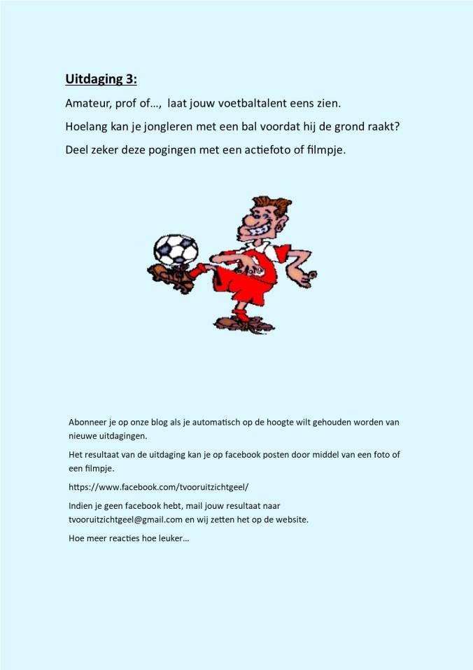 uitdaging 3 jongleren