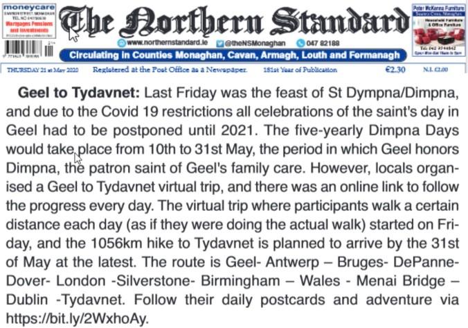artikel The Northern Standard