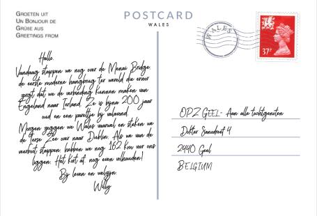 Postkaart Punt 10 achterkant