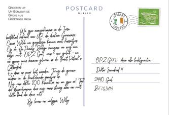 Postkaart Punt 11 achterkant