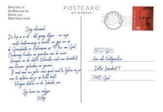 Postkaart Punt 2 achterkant