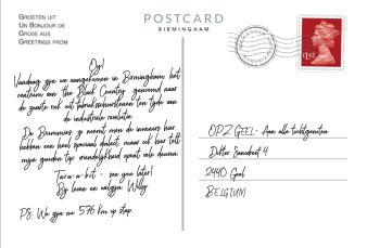 Postkaart Punt 8 achterkant