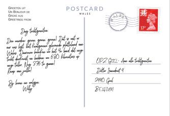Postkaart Punt 9 achterkant