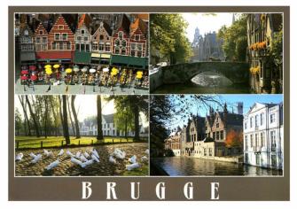 postkaartje brugge voorkant
